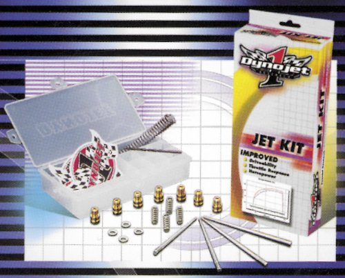 Dynojet Research Stage One And Two Jet Kit For Honda NT650 Hawk GT 1988-1991 - Dynojet Research (Jet Kits)