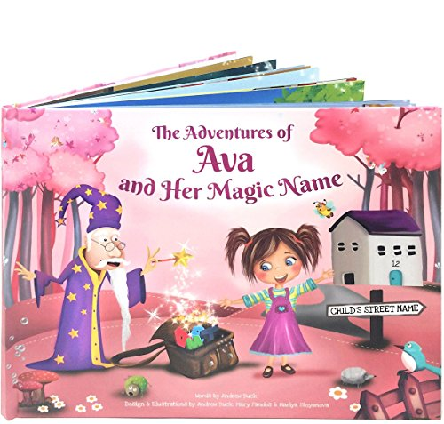 Personalized Picture Story Book for Kids - A Unique Story Based on the Letters of a Child's Name (Unique Deliveries)