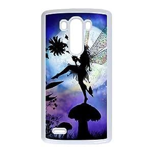 LIULAOSHI Night Fairy Phone Case for LG G3 White [Pattern-1] by Maris's Diary