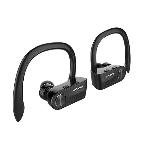 1a69af510d8 AWEI T2 TWS Wireless Bluetooth Earphone Stereo Headset IPX4 Waterproof CVC  Noise Reduction Auriculares Headphone: Buy AWEI T2 TWS Wireless Bluetooth  ...