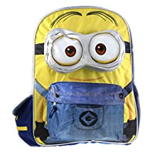 Despicable ME Minions 3D 16 Large School Cargo Backpack For Kids !!!