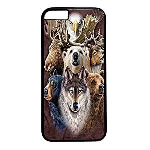 NORTHERN WILDLIFE Custom Back Phone Case for iphone 6 4.7 PC Material Black -1218253