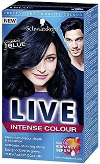 schwarzkopf live color xxl cosmic blue 90 - Midnight Blue Black Hair Color
