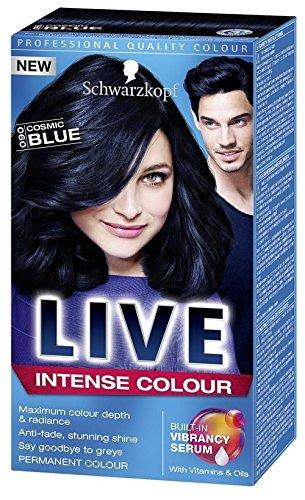 Live haarfarbe schwarz
