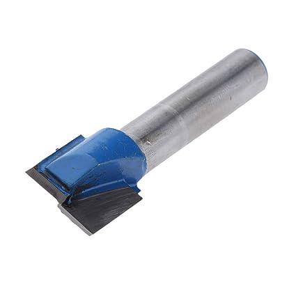 aus HM f/ür Lange Lebensdauer Schneiddurchmesser Ausw/ählbar 8mm Schaft 8x17mm Fenteer DIY Nutfr/äser zweischneidig
