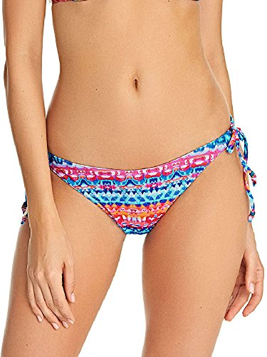 Side Tie Rio Bikini Swimsuit - Freya Cuban Crush Rio Side Tie Bikini Bottom, S, Watercolor