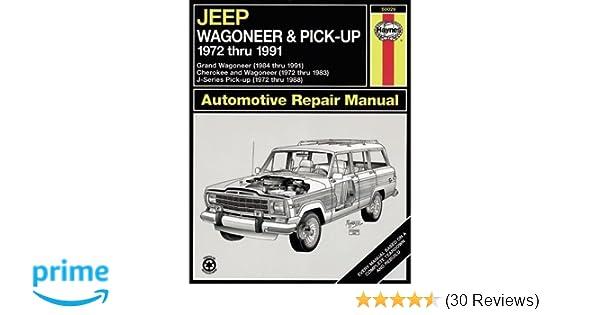 Jeep wagoneerj series 7291 haynes repair manuals haynes jeep wagoneerj series 7291 haynes repair manuals haynes 0038345500299 amazon books fandeluxe Gallery