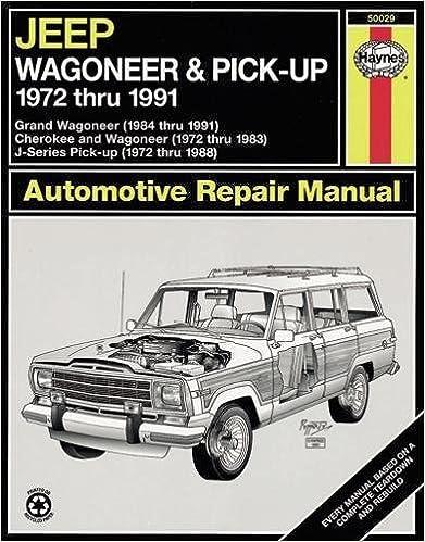 Jeep wagoneerj series 7291 haynes repair manuals haynes jeep wagoneerj series 7291 haynes repair manuals 1st edition fandeluxe Gallery