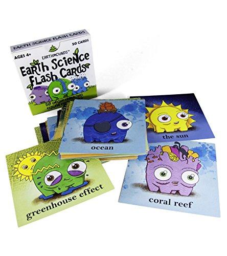 Earthmounds Earth Science Flash Cards (1st Edition)