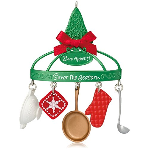 Hallmark Keepsake Ornament: Bon Apptit Cooking - Ornaments Utensil
