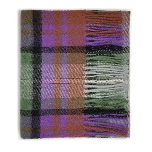 Kiltane of Scotland 100% Lambswool Ultra Soft Touch Tartan Scarf- Designed in Scotland (4663-Isle of - Fashion Lambswool Scarf