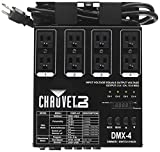 CHAUVET DJ DMX-4 LED Lighting Dimmer/Relay Pack   Lighting Accessories