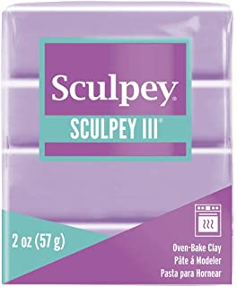 product image for Polyform Sculpey III Polymer Clay, 2-Ounce, Spring Lilac