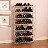 168 Bottle Wine Rack commercial industrial storage organizer wine bottles restaurant