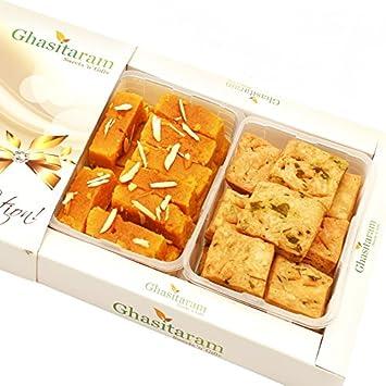 Ghasitaram Gifts Sweets- Mysore Pak and Methi Mathri Hamper