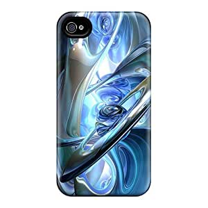 Fashionable Style Case Cover Skin For Iphone 4/4s- Center Of Abstract