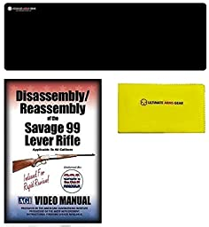 AGI DVD Disassembly & Reassembly Course Savage Arms 99 Lever Action Rifles + Ultimate Arms Gear Bench Mat + Cleaning Cloth