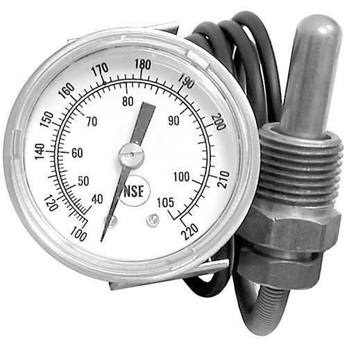 Jackson 6685-111-68-48 Thermometer #2 Temp 100-220 F U-Clamp Jackson Dishwasher Rinse 1116848 621074