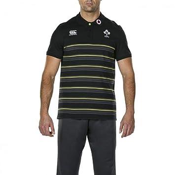 Canterbury Polo Ireland IRFU - Camisa Polo de algodón para Hombre ...