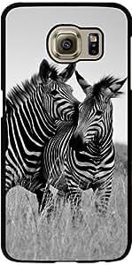 Funda para Samsung Galaxy S6 (SM-G920) - Cebra Blanco Y Negro De África by WonderfulDreamPicture
