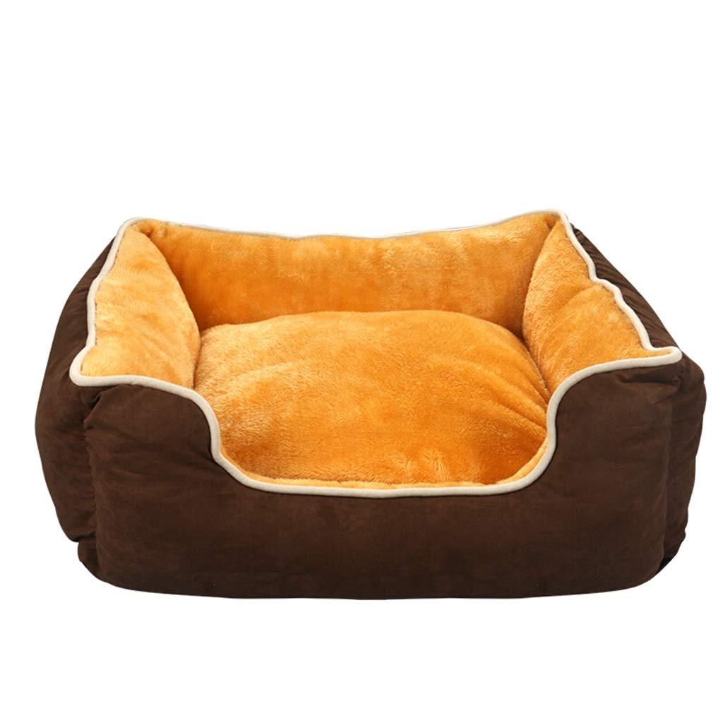 M DSADDSD Pet Nest Dog Bed Cat Nest Pet Mat Pet Products Washable Medium And Large Dog Kennel (Size   M)