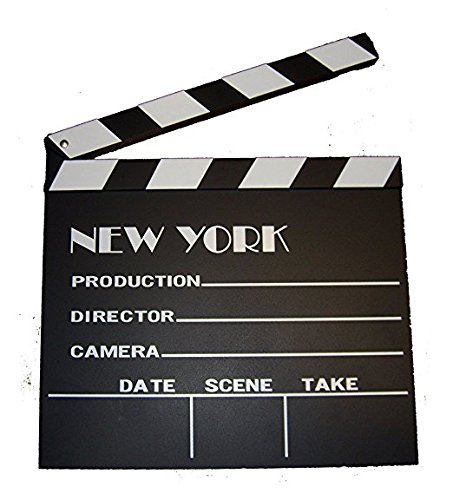 New York Movie Clapboard