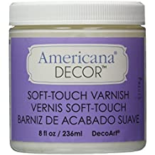 Deco Art Soft Touch Varnish, 8-Ounce, Clear