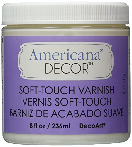 (Deco Art Soft Touch Varnish, 8-Ounce, Clear)