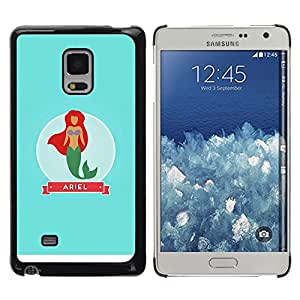 iKiki Tech / Estuche rígido - Babe Mermaid Princess Sea Sailor - Samsung Galaxy Mega 5.8 9150 9152