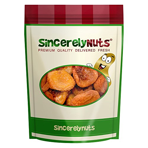Sincerely Nuts Dried Peaches - Three Lb. Bag - Deliciously Divine - Irresistibly Fresh - Loaded with Body-Loving Nutrients - Kosher Certified