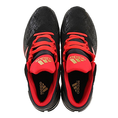 Adidas Mens Street Jam Ii, Noir / Rouge Noir / Rouge