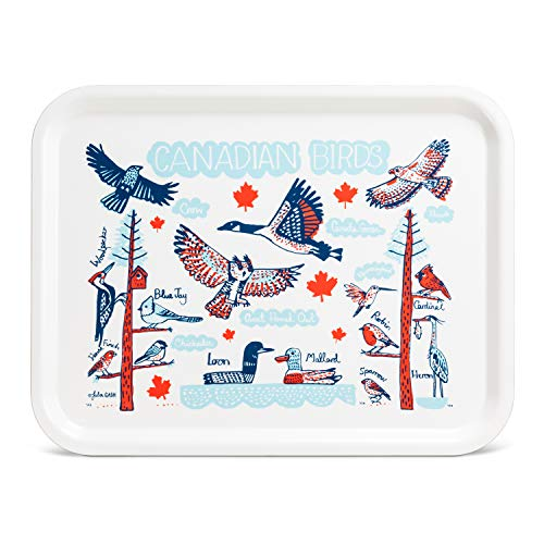 (Abbott Collection 80-TRL-JG-03 Canadian Birds Tray-13x17 L Multi)