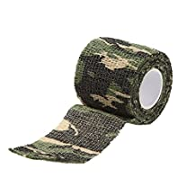 SODIAL(R) Outdoor Cycling Camo Wrap Gun Hunting Camouflage Stealth Tape Camo 1