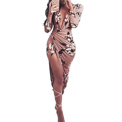 Vestidos de Mujer, Zolimx Vestido Verano 2018 Hombro Frío Casual Ajustados T-Shirt Vestido