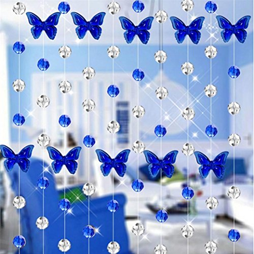Kanzd Crystal Glass Bead Curtain Luxury Living Room Bedroom Window Door Wedding Decor For Home