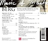 Music of Tribute: Alban Berg, Vol. 6