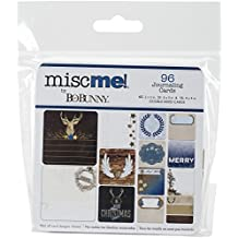 Bo Bunny 18726153 Misc Me Journal Pocket Contents, Sleigh Ride by Bo Bunny