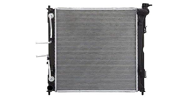 Klimoto Radiator fits Hyundai Santa Fe 2010-2014 Kia Sorento 2011-2015 2.4L 3.3L 3.5L L4 V6 Replaces HY3010170 253101U100 438481