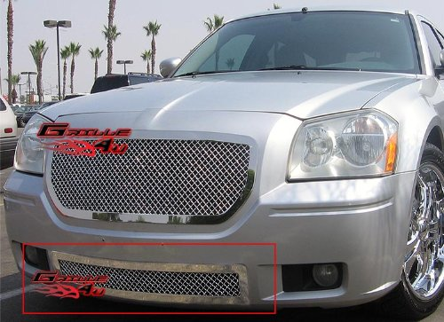 APS D75316S Chrome Grille Replacement for select Dodge Magnum Models ()