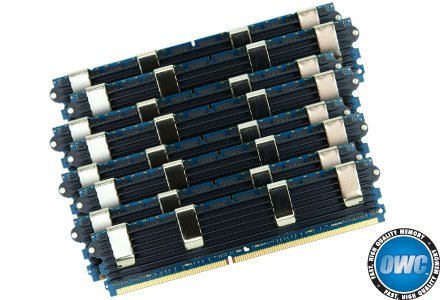 (OWC 64.0GB (8 x 8GB) PC6400 DDR2 ECC 800MHz 240 Pin FB-DIMM Matched Pair Memory Upgrade Kit For Mac Pro)