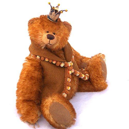 Gold Mohair Bear - 5
