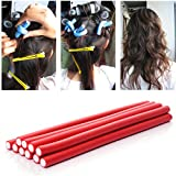 10Pcs In 1 Packet Soft Foam Sponge Curls DIY Styling Hair Curler Rollers Tool For Women Accessories