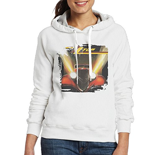 Women's Organic Cotton ZZ Top Eliminator Hoodie Sweatshirt (Zz Top Lighter)