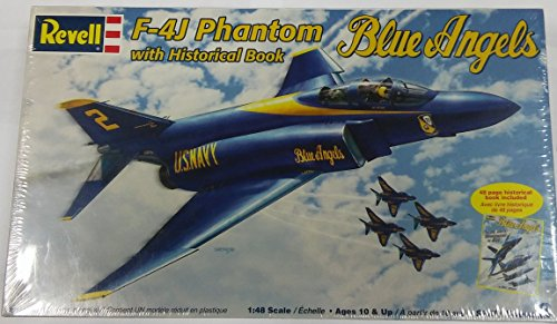 Revell 1:48 F-4J Phantom Blue Angels with Historical Book