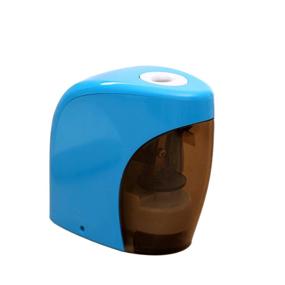Jiamins Blau Elektrischer Anspitzer Automatischer Noten Schalter, Hauptschulbü ro-Klassenzimmer-Briefpapier