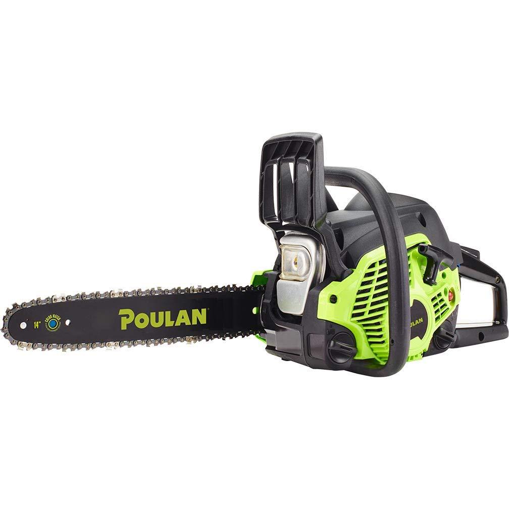 Poulan 14'' Steel Bar 33CC Gas Chain Saw 2 Cycle | PL3314 (Certified Refurbished) by Poulan Pro