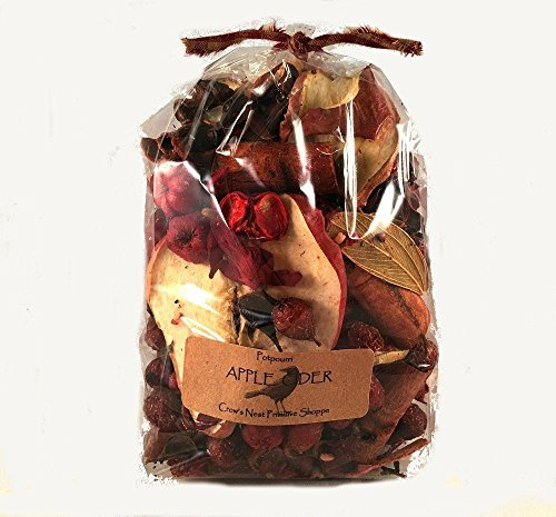Apple Cider Scented Potpourri with Cinnamon Sticks Real Apple Slices & Spices Packaged in 3 cup bag with label.