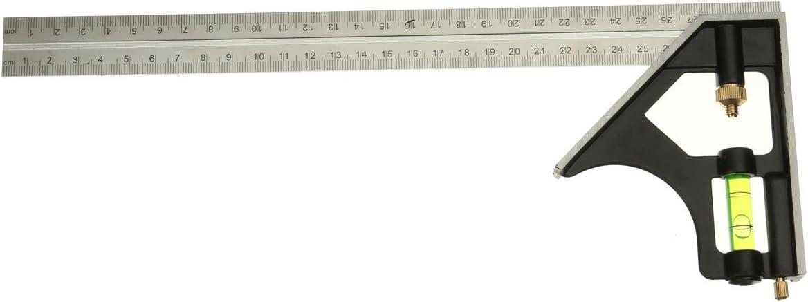 DANIU Lineal 12 Zoll mit verstellbarem Zifferblatt aus Edelstahl