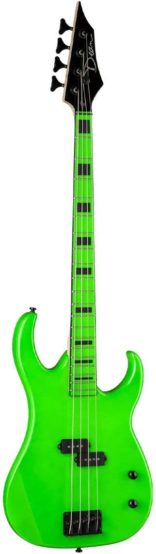 Dean Custom Zone Bass, Nuclear Green 51UpC6NwzzL