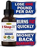 1 Stop Slim™ Thermogenic Weight Loss Drops Shape Reclaimed For Woman And Man - Rapid Fat Burning Formula, Appetite Suppressant, Boost Metabolism, Get Slim And Ripped Now Or Money Back Guarantee!